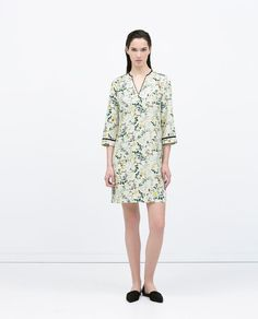 ZARA - WOMAN - FLORAL PRINT DRESS  Price: 79.90 Composition: Polyester
