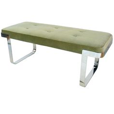 Shop benches and other antique and modern chairs and seating from the world's best furniture dealers. Vintage Bench, Vintage Furniture, Cool Furniture, Modern Bench, Modern Chairs, Love Milo, Milo Baughman, Ottomans, Vanity Bench