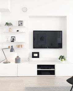 Ikea 'Bestå' cabinets & wall shelves