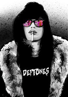 Deftones Poster on Behance