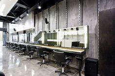 hairdresser shop combination interior design