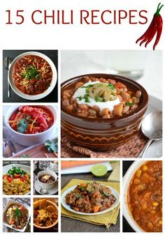 Looking for something for the game, or just to a good warm meal during this cold that is taking over the nation! Check out this Chili Recipe Roundup!