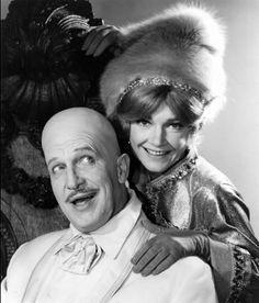 """""""Batman"""" Vincent Price and Anne Baxter 1966 ABC"""