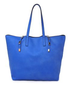 This Blue Southampton Tote is perfect! #zulilyfinds