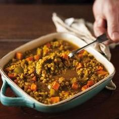 Wheat Berry and Lentil Stew - Healthy Food Healthy Recipes For Weight Loss, Heart Healthy Recipes, Healthy Eating Tips, Healthy Foods To Eat, Vegetarian Recipes, Wheat Berry Recipes, Mushroom Stew, Dried Lentils, Lentil Stew