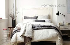 Monochromatic Bedroom | West Elm