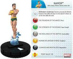Namor #009 Galactic Guardians Marvel Heroclix Single - Galactic Guardians - HeroClix - Miniatures