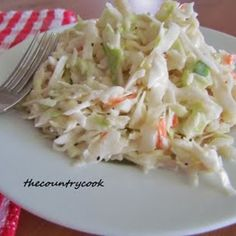 The Country Cook: Country Cole Slaw - good.added a little dill. Will be my go to cole slaw recipe. Used broccoli slaw instead. Pork Sandwich, Sandwiches, Southern Coleslaw, Country Coleslaw Recipe, Creamy Cole Slaw Recipe, Sweet Coleslaw Recipe, Coleslaw Recipes, Dinner Ideas, Gourmet