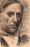 Pablo Picasso. self-portrait, 1901