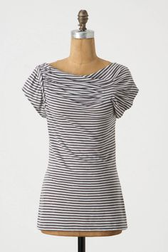 Pleated Yoke Tee / Anthropologie $48