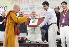 Nightingale's premium edition of The Bhagavad Gita Signature Edition Gifted to Prime Minister Shri Narendra Modi.