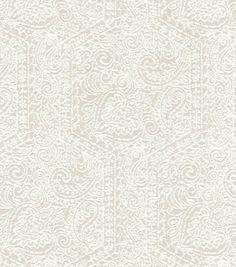 Upholstery Fabric-  Williamsburg Goa Garden AlabasterUpholstery Fabric-  Williamsburg Goa Garden Alabaster,