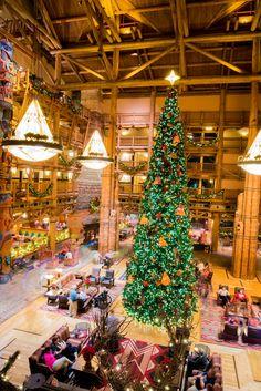 Walt Disney World Hotels At Christmas - The Bucket List Narratives