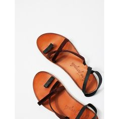 Isle of Capri Sandal ($100) ❤ liked on Polyvore featuring shoes, sandals, ankle wrap sandals, strap sandals, strappy shoes, free people sandals and ankle strap sandals