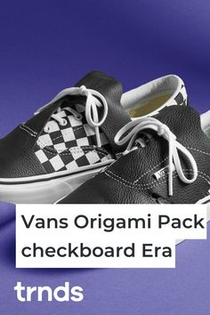 "Vans Honors Japanese Art with the ""Origami Pack"" Nike Air Force, Nike Air Max, Vans Era, Air Max 95, Vans Old Skool, Fashion Games, Japanese Art, Origami, Air Jordans"