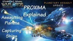 Starpoint Gemini Warlords: Planetary Assault Update - PROXIMA, Capturing...