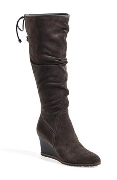 Franco Sarto 'Dominion' Wedge Boot (Women) (Wide Calf) available at #Nordstrom