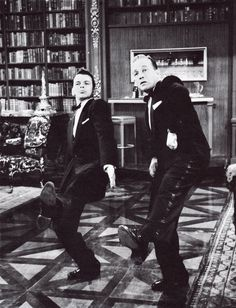 Frank Sinatra and Bing Crosby in 'High Society', 1956.