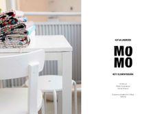 MOMO – Koti elementissään (book published in – photo by Riikka Kantinkoski, graphic design by Piëtke Visser and Jyri Öhman Book Publishing, Modern Architecture, Interiors, Graphic Design, Interior Design, Table, Furniture, Home Decor, Nest Design