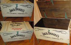 Jack Daniel's Crate Table