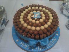 malteser and flake cake!