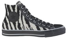 My zebra high tops by Converse Chuck Taylor