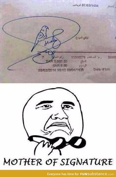 Mother of Signature