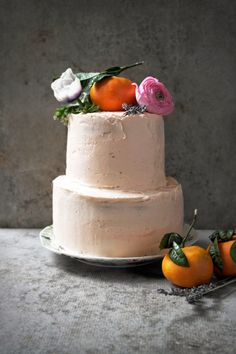 ..Twigg studios: mandarin and lemon cake with cream cheese frosting