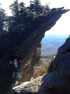 Located just 30 minutes from Beech Mountain, this Grandfather Mountain hiking trail is gorgeous! Try bridging this gap! Billion year old rock formations make for gorgeous views. http://homes.superlativerealtyservices.com/idx/details/listing/a424/191147/103-Maple-Ln