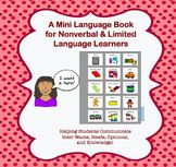 A Mini Communication Book for Nonverbal and Limited Langua