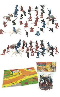 American Revolution Military Playset : 793473985638