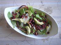 Saláta keverék avokádóval és gránátalmával Cukor, Tacos, Mexican, Ethnic Recipes, Food, Eten, Meals, Diet