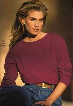Fashion model from a 1993 catalog #vintage #fashion #1990s #retrowaste