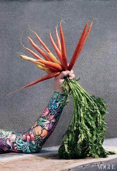 2012-07-11-SeanBrock1.jpeg Veg Tattoo from Huff Post Food via Vogue