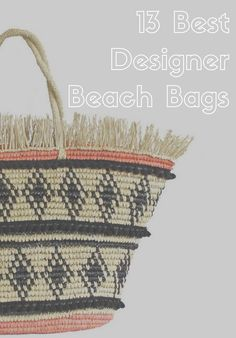 Cheeky tote bags, stylish straw carriers, and graphic over-the-shoulder options.