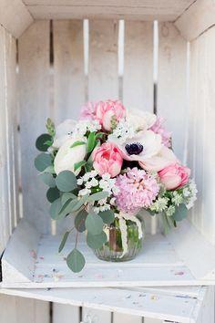 #brautstrauß #bouquet Wild-romantische Almhütten Hochzeit | Hochzeitsblog - The Little Wedding Corner