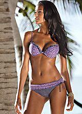 Bruno Banani Purple Push-Up Bikini