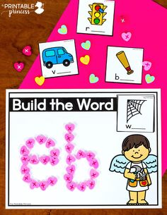 This resource includes 18 literacy and math activities with an adorable Valentine's theme. The skills included in this resource are perfect for Kindergarten during the month of February. There's no recording sheets which makes these perfect for morning tubs or early finishers. Skills include: editable sight words, CVC words, rhyming words, onset and rime, beginning digraphs, color words, addition, subtraction, making 10, comparing numbers to 20, 30, and 50, tally marks, number words, and MORE!