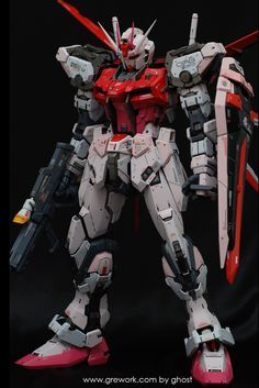 GUNDAM GUY: PG 1/60 Strike Rouge - Customized Build