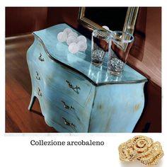 Una nota di colore della collezione Arcobaleno #legnomassello #altaqualità #prodottoitaliano #tuttolegno #passionecasa