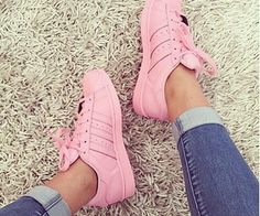 My fave #Supercolor ... Adidas x Pharrell ~ #pastelpink x
