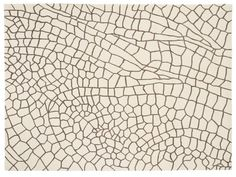 GAN Dragonfly Taupe Hand Knotted Rug by Nendo  - Chaplins