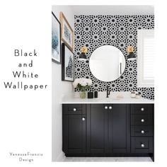 Beautiful Bold Black Bathrooms + Paint Guide