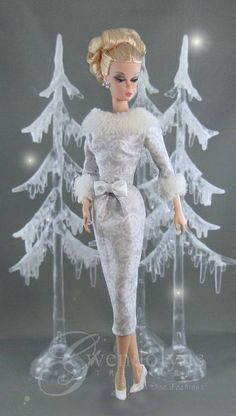 SILVER SNOW Couture Fashion for Silkstone FR2 and Victoire
