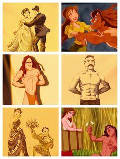 GAAAAH I love Tarzan! Especially this scene!