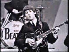 The Beatles - Till There Was You - The Ed Sullivan Show (1964) I love this for how the Sullivan show puts names below each Beatle -- we never needed them after this! -- and I love the reaction of each Beatle to his name on screen and the reaction of the screaming crowd.