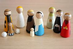 DIY Nativity | #Christmas | #Nativity | #BabyJesus | #Decorations | #HomeDecor | #Holiday | #DIY | #Crafts | #HolyFamily