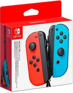 Paire de manettes Joy-Con  Rouge néon / Bleu néon - Switch - Acheter vendre sur Référence Gaming