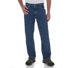 Wrangler - Tall Men's Regular Fit Jeans, Size: 42 x 38, Gray