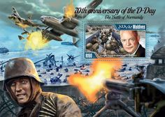 Post stamp Maldives MLD 15101 b70th anniversary of the D-Day and the Battle of Normandy (Dwight David Eisenhower (1890–1969))